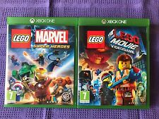 XBOX ONE LOTTO  LEGO  2 GIOCHI