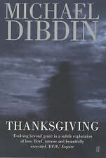 Thanksgiving, Michael Dibdin, Very Good