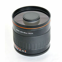 500mm f/6.3 Mirror Lens for Nikon D50 D60 D70 D80 D90 D3X D2X D3 D40+T2 T-Mount