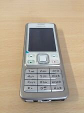 Nokia 6300 Silver New Condition Unlocked Camera Bluetooth Phone 6 Month Warranty