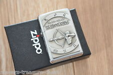 awesome ZIPPO Zodiac Sagittarius 23.11 - 21.12 wonderful heavy plate lighter