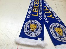 LEICESTER CITY FOOTBALL CLUB CHAMPIONS SCARF 2016/ 17..# FEARLESS# # FOXES#