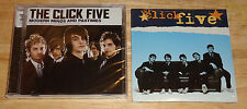 THE CLICK FIVE/5 2 cd SET Modern Minds and Pastimes/3 Track Disc NEW/SEALED