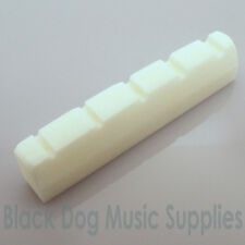 Quality 45mm 5 string BONE Bass guitar top nut  five