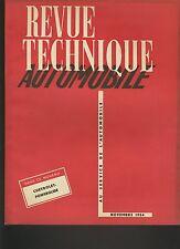 (C5)REVUE TECHNIQUE AUTOMOBILE CHEVROLET POWERGLIDE / CITROEN 2CV électricité