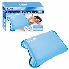 Rechargeable Hot Water Bottle Electric Detachable Power Warm Soft Cordless