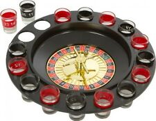 EZ Drinker Shot Spinning Roulette Game Set (16Piece), New, Free Shipping