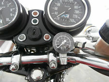 TRIUMPH T150 T160 BSA ROCKET 3 OIL PRESSURE GAUGE KIT (BLACK FACE INSTRUMENT)