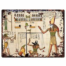 PP0803 Egyptian Painting Chic Plate Sign Home Store Shop Restaurant Cafe Decor