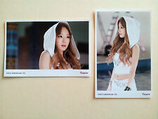 GIRLS' GENERATION SNSD TTS Holler Photo Set - Taeyeon  /Not Photo Card - MV