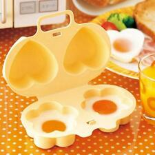 Microwave Poach Egg Poacher Home Kitchen Gadget Cooking Cooker Portable Tools Z