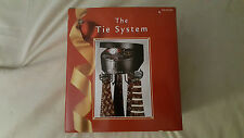 The Tie System Automatic Revolving Tie Holder w Compartment For Accessories