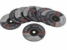 BERGEN 75mm x 1.6mm x 10mm Metal Cutting Discs 10 Pack - NEW