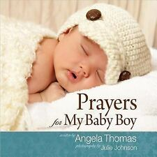 Prayers for My Baby Boy, Thomas, Angela, Good Condition, Book