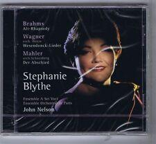 STEPHANIE BLYTHE / JOHN NELSON CD NEW BRAHMS WAGNER MAHLER