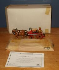 Matchbox Collectibles Fire Series YSFE05 Merryweather Horse Drawn Fire Engine