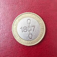 2 two pounds commemorative coin £2 Act Abolition of Slavery rare 2007