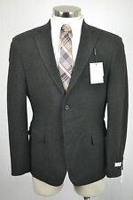(44R) NEW Calvin Klein Men's Green Wool MOD SLIM FIT Blazer Sport Coat Jacket