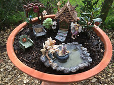 Fairy swimming hole.  Swimming pool for the fairies in your garden