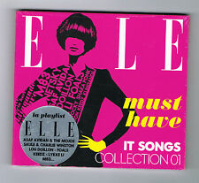 ELLE - IT SONGS COLLECTION 01 - CD 13 TITRES - 2013 - NEUF NEW NEU