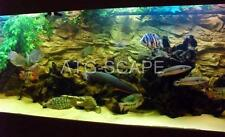 AQUARIUM BACKGROUND 3D ROCK  FOR 55/75g TANK SIZE: 48x21 - EASY TO INSTALL