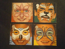 """2001 GB STAMPS """"RIGHTS OF THE CHILD FACE PAINTING-FINE USED"""