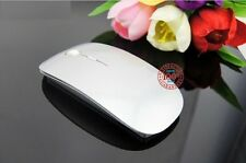 New Wireless USB Slim Laser Optical Clever Magic Mouse Mice For Apple Mac PC