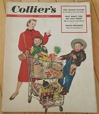 COLLIERS MAGAZINE FEBRUARY 14 1953 LINCOLN PICTURES RACIAL PREJUDICE BROADWAY