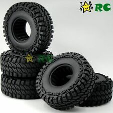 "5pcs RC 1/10 1.9"" 115mm Crawler Tires Tyres Fit RC 4WD Axial 1.9in beadlock rims"