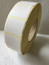4000 WHITE Labels on roll - blank, sticky labels, 45 MM x35 mm Thermal Transfer