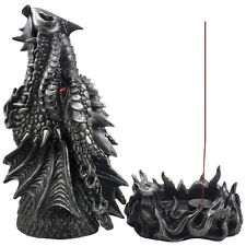 Fire Breathing Dragon Incense Burner for Sticks or Cones Statue Holder Gifts