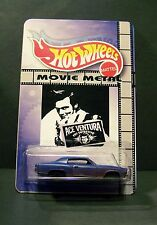 "Custom HotWheels MONTE CARLO and package of  ""Movie Metal""   ACE VENTURA"