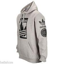 nw~Adidas STREET GRAPHIC HOODY Sweat Shirt superstar Hooded FLEECE Top~Men sz XL
