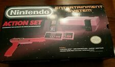 NES Action Set - Re furnished72 Pin connector. In Box w/Foam - with paperwork