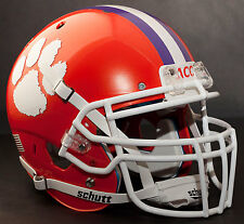 *CUSTOM* CLEMSON TIGERS NCAA Schutt XP Gameday REPLICA Football Helmet w/ROPO-DW