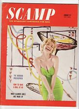 Vintage Scamp Magazine January 1959 Jan VG/FN 5.0 UNREAD See my store