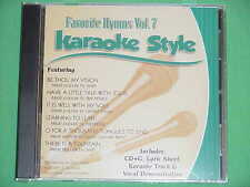 Favorite Hymns #7 Christian Daywind Karaoke Style ~ There is a Fountain ~ CD+G