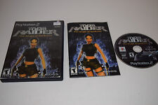 +++ Lara Croft TOMB RAIDER ANGEL OF DARKNESS Playstation 2 PS2 Game COMPLETE