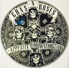 Steven Adler Signed Autographed Guns N Roses Appetite For Destruction Drumhead