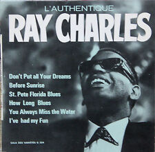 """Vinyle 33T (mini - format 7') Ray Charles """"L'authentique Ray Charles"""""""