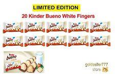 10 x KINDER BUENO WHITE Limited Edition Chocolate Bars - 390 g / 13.8 oz