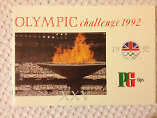 PG Tips Tea Cards - Olympic Challenge 1992 - 40 Cards