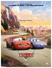 Affiche 40x60cm CARS / DISNEY - PIXAR 2006 John Lasseter, film d'animation NEUVE