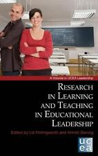 NEW - Research in Learning and Teaching in Educational Leadership (Hc)