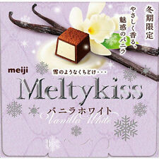 New Meiji Melty Kiss Vanilla White Chocolate Limited Japan Free Postage F/S