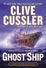 NUMA Files: Ghost Ship 10 by Graham Brown and Clive Cussler (2014, Hardcover)
