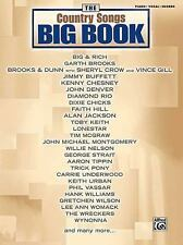 The Country Songs Big Book Mixed Folios For Piano Vocal Chord The Big Book Seri