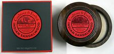 Crabtree & Evelyn Shave Indian Sandalwood Soap in a Wooden Bowl (80203)