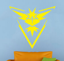 Pokemon Go Wall Decal Team Insticnt Vinyl Sticker Home Interior Art Decor (12p)