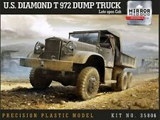 Mirror Models 1/35 U.S. Diamond T 972 Dump Truck Late Open Cab # 35806